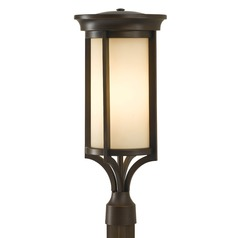Feiss Lighting Merrill Heritage Bronze LED Post Light