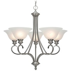 Golden Lighting Lancaster Pewter Chandelier