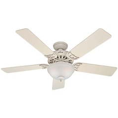 Hunter Fan Company the Sonora French Vanilla Ceiling Fan with Light