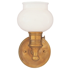 Hudson Valley Lighting Nostalgic Sconce with On/Off Switch 2101-AGB