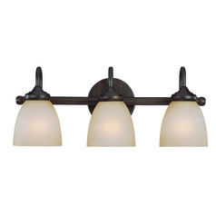 Craftmade Spencer Bronze Bathroom Light