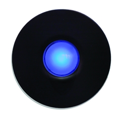 Spore Blue LED Doorbell in Bronze Finish