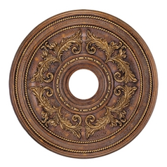 Livex Lighting Crackled Greek Bronze Ceiling Medallion