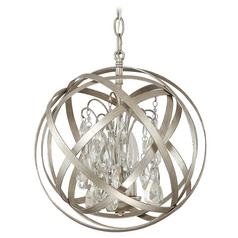 Capital Lighting Winter Gold Pendant Light