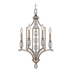 Savoy House Silver Dust Mini-Chandelier
