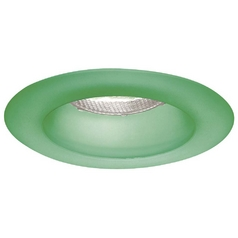 Minka Lighting 4-Inch Emerald Green Finish Recessed Light Trim