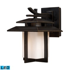 Elk Lighting Kanso Hazlenut Bronze LED Outdoor Wall Light