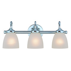 Jeremiah Spencer Chrome Bathroom Light