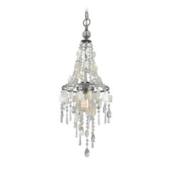 Elk Lighting Alexandra Weathered Zinc Pendant Light