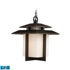 Elk Lighting Kanso Hazlenut Bronze LED Outdoor Hanging Light