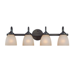 Jeremiah Spencer Bronze Bathroom Light
