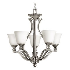 Hinkley Bolla 6-Light Chandelier in Brushed Nickel