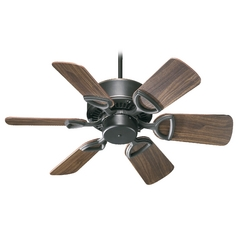Quorum Lighting Estate Old World Ceiling Fan Without Light