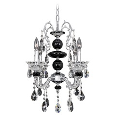 Allegri Faure 4-Light Chandelier in Chrome