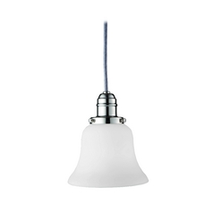 Hudson Valley Lighting Mini-Pendant Light with White Glass 3101-PN-341
