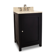 Bathroom Vanity in Espresso Finish - Pre Assembled Top and Bowl