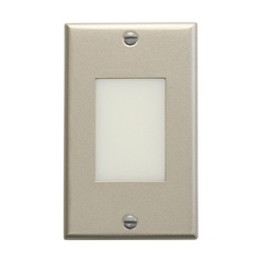 Kichler LED Recessed Step Light in Brushed Nickel Finish