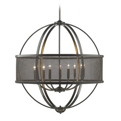 Golden Lighting Colson Eb Etruscan Bronze Chandelier