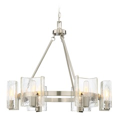 Savoy House Lighting Handel Satin Nickel Chandelier