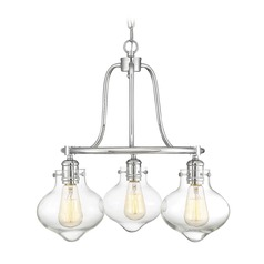 Polished Chrome Mini-Chandelier Allman Collection by Savoy House