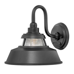 Farmhouse Barn Light Outdoor Wall Light Black by Hinkley Lighting