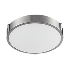 Kuzco Brushed Nickel LED Flushmount Light