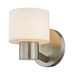 Mai Satin Nickel Sconce