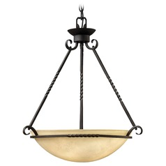 Four-Light Old World Style Pendant Light