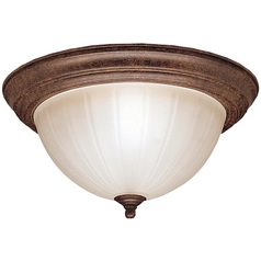 Kichler Flushmount Light in Tannery Bronze Finish