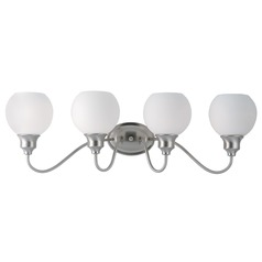 Maxim Lighting Ballord Satin Nickel Bathroom Light