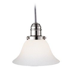 Hudson Valley Lighting Mini-Pendant Light with White Glass 3101-PN-415M