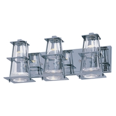 Maxim Lighting Flask Polished Chrome LED Bathroom Light