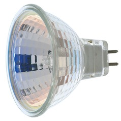 MR-16 Halogen Light Bulb 2 Pin Narrow Flood 24 Degree Beam Spread 2900K 12V Dimmable