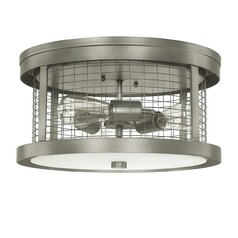 Capital Lighting Davis Graphite Flushmount Light