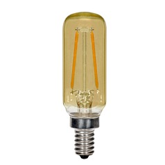 Carbon Filament LED Candelabra T6 Light Bulb 15-Watt Equivalent by Satco