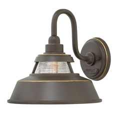 Farmhouse Barn Light Outdoor Wall Light Bronze by Hinkley Lighting