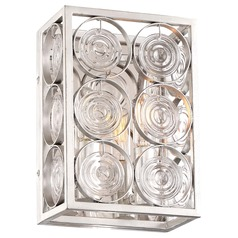 Minka Lavery Culture Chic Catalina Silver Sconce