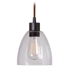 Kenroy Home Lighting Edis Oil Rubbed Bronze Mini-Pendant Light