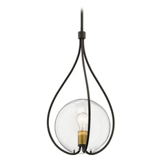 Transitional Pendant Light Olde Bronze Lynne by Kichler Lighting