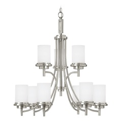 Sea Gull Lighting Winnetka Brushed Nickel LED Chandelier