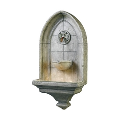 Fountain in Cement Finish