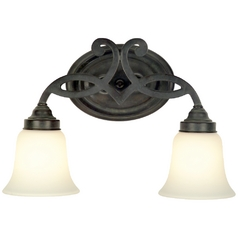 Dolan Designs Lighting Two-Light Bathroom Light 3102-34