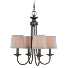 Jeremiah Spencer Bronze Mini-Chandelier