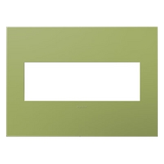 Legrand Adorne Lichen Green 3-Gang Switch Plate