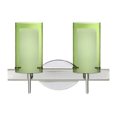 Besa Lighting Pahu Chrome Bathroom Light