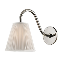 Hudson Valley Lighting Remsen Polished Nickel Sconce