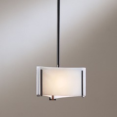 Hubbardton Forge Lighting Exos Dark Smoke Mini-Pendant Light