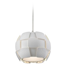 Access Lighting Layers White Pendant Light