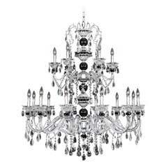 Faure 18 Light Crystal Chandelier