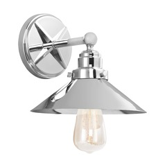 Feiss Lighting Hooper Chrome Sconce